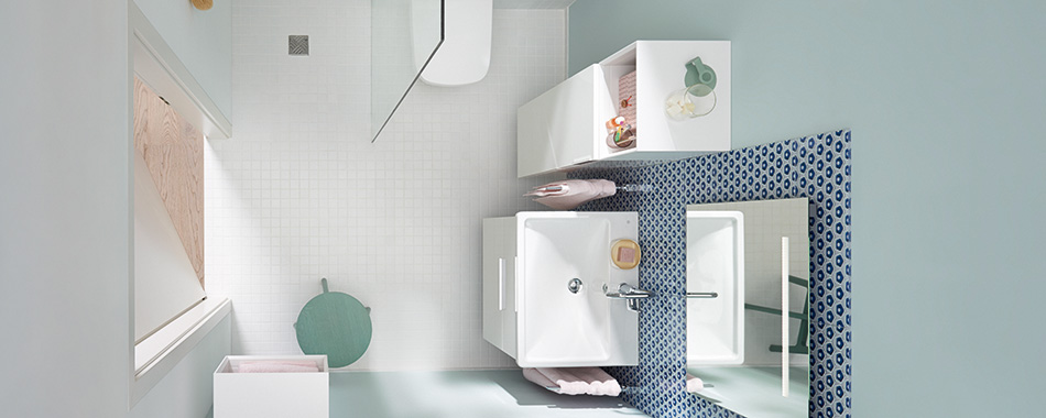 badm bel und badezimmer einrichtung f r kleine b der und badezimmer burgbad. Black Bedroom Furniture Sets. Home Design Ideas